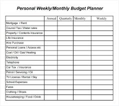 Budget Calculator Template Opusv Co