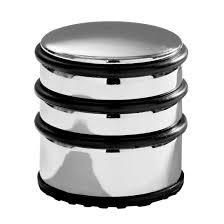 Premier Housewares Chrome Door Stop With Black Rubber Protective Rings 8 X  7 X 7 Cm Amazon.co.uk Kitchen U0026 Home Sc 1 St Amazon UK