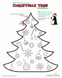 Printable Christmas Decorations: Table Centerpiece | Worksheet ...