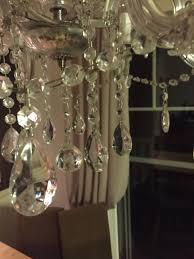 Kronleuchter Echtglas 6 Flämmig