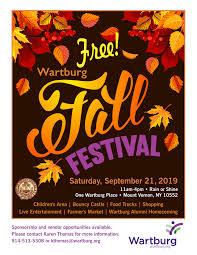 Fall Festival Flier Fall Festival September 21st 2019 Wartburg