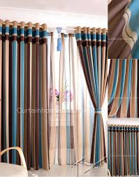 Striped Bedroom Curtains Cool Curtains For Bedroom