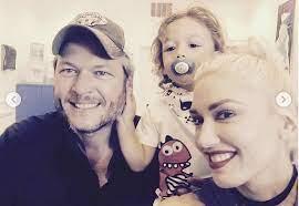 Gwen Stefani Celebrates Bonus Dad Blake ...
