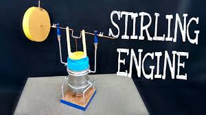 how to make stirling engine amazing science project homemade diy