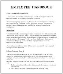 Sample Employee Handbooks Policy Handbook Template Employee Handbook Templates Word
