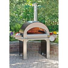 Pizza Oven Outdoor Kitchen Alfa Pizza Forno 4 Wood Burning Pizza Oven Reviews Wayfair