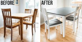 the perfect grey wood stain dining table makeover the handyman s daughter