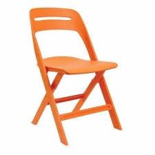 orange plastic chair. Orange Folding Chairs 1 Plastic Chair