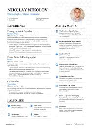 A Perfect Example Of Modern Resume 200 Free Professional Resume Examples And Samples For 2019