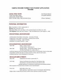 Sample College Application Resume Ivy League Inspirational Sample Fascinating Resume For College Application