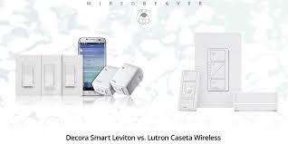 Leviton Device Color Chart Decora Smart Leviton Vs Lutron Caseta Wireless