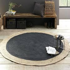 round gray rug bordered round jute rug slate gray jute rug 9x12