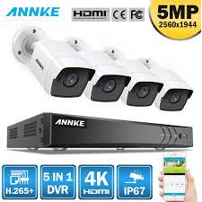 <b>ANNKE</b> 8CH 5MP <b>5IN1</b> Ultra <b>HD</b> Video Security Camera System H ...