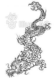 最も検索された 龍 イラスト 白黒 ベスト キャラクター 壁紙