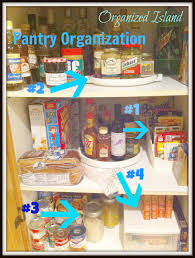 Organizing Kitchen Pantry Kitchen Pantry Organization Organized Island