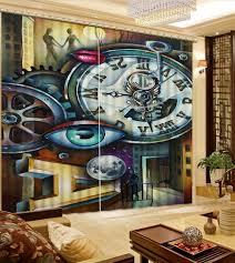 3d Vorhang Luxus 3d Vorhänge Schöne Lebensechte Hd 3d Druck Vorhänge