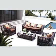 aluminium rattan wicker sofa set