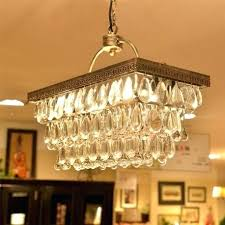 clarissa crystal drop round chandelier rectangular chandelier pottery
