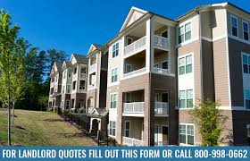 landlord insurance quotes for single family units and apartment buildings