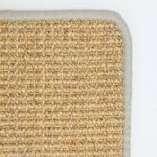 Sisal Teppich 100 Grau In 100x240 Cm