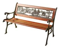 cast iron bench seat australian outback