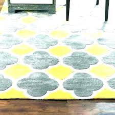 yellow and gray rug 5 7 area rugs grey