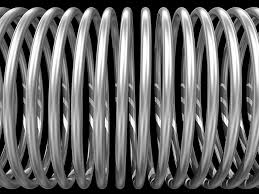 metal spring coil. spring, coil, coil spiral, metal, steel, wire metal spring