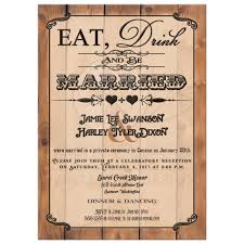 post wedding reception only invitation eat, drink and be married Wedding Reception Only Invitations great eat, drink and be married vintage poster style post wedding reception only invites with wedding reception only invitations wording