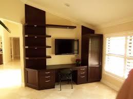 computer offices desks m er custom furniture for brilliant residence tv and computer desk remodel
