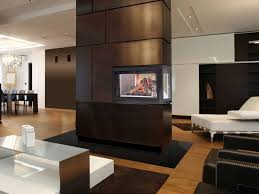 manificent design 2 sided fireplace 20 gorgeous two