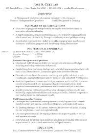 Examples Of Career Objective For Resume Nfcnbarroom Com
