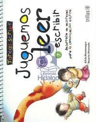 Juguemos a leer trillas descargar gratis february 15, 2016, 05:35 and party city. Juguemos A Leer Y Escribir Tareas Script Librerias Hidalgo