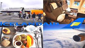 Icelandair Business Class Boeing 757