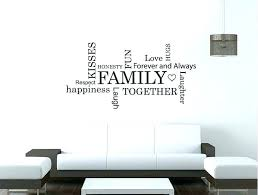 wall decorations words word wall decor wall decor word art family words wall sticker word art