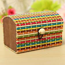 bamboo jewelry box bamboo jewelry box handmade wooden storage case