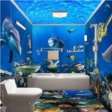 Bathroom Wall Murals  How To Build A HouseBathroom Wallpaper Murals