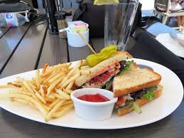 Sandwich Chart Crab Club Sandwich And French Fries Picture Of Chart House