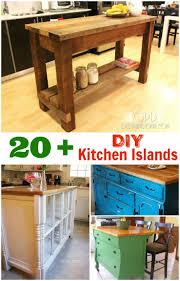 Kitchen Island Diy 17 Best Ideas About Build Kitchen Island On Pinterest Build