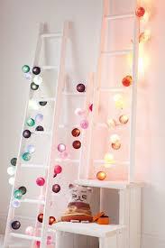 Fun lighting for kids rooms Diy Ball Lights Design Dazzle Kids Bedroom Beautiful Fairy Light Ideas Making Magic In Kids Rooms