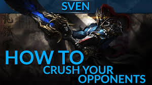 how to crush your opponents as sven by choosing the right items