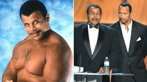 Dwayne Johnson's dad and WWE legend Rocky 'Soul Man' Johnson ...
