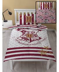 harry potter muggles single duvet cover and pillowcase set