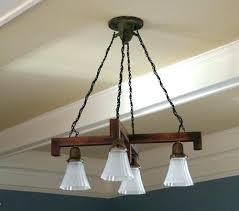 craftsman style chandelier foyer lighting