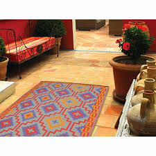 brilliant lhasa outdoor rug fab habitat lhasa orange and violet rug 10066486 hsn
