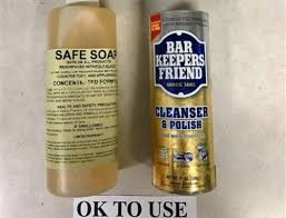 what to use to safely clean your tub