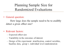 Povertyactionlab.org Planning Sample Size For Randomized Evaluations ...