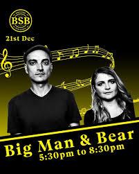 <b>Big Man</b> and Bear - Home   Facebook