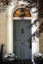 gray color feng shui front door