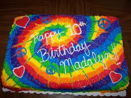 Tie Dye Birthday Cake Designs Tie Dye Birthday Inside Is Rainbow Cake With Tie Dye