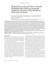 (PDF) <b>Original</b> Nerve Growth Factor Mimetic Dipeptide GK-2 ...